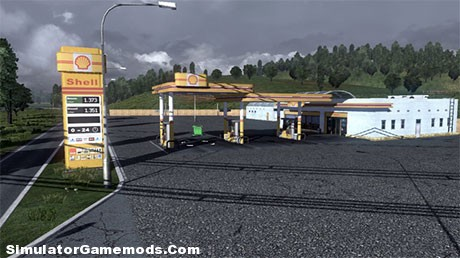 Shell Gas Station [ETS2]
