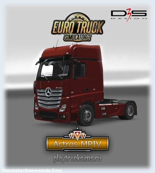 Actros MP4 [ETS2]