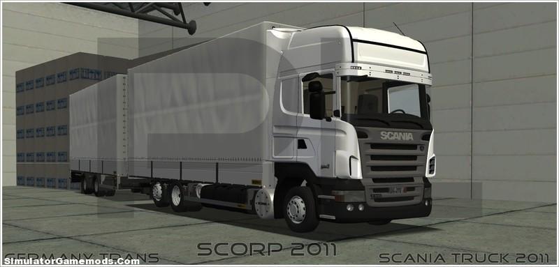 Scania R Tandem Dual Trailer Euro Truck Simulator 2