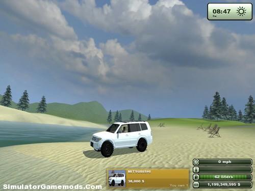 MITSUBISHI Pajero Version 1.0 Car