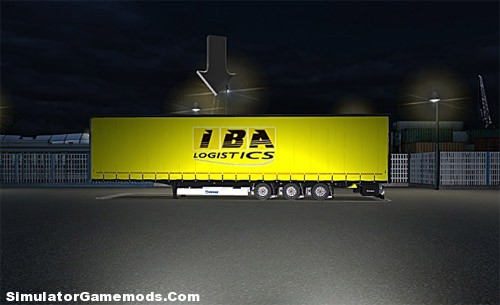 IBA Logistics Trailer German Truck Simulator
