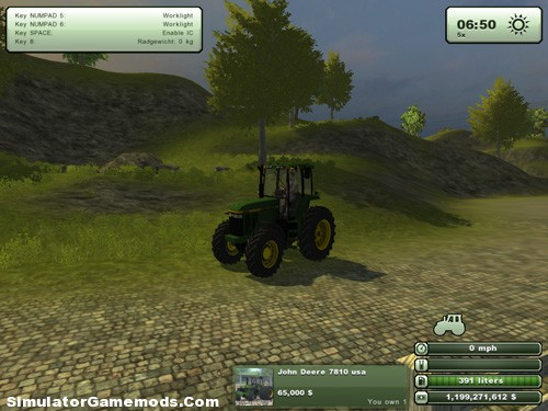 John Deere 7810 American Tractor