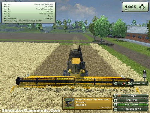Claas Lexion 770 Combine Pack