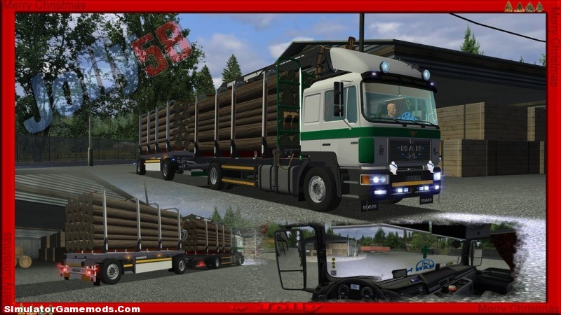Man F2000 German Truck Simulator