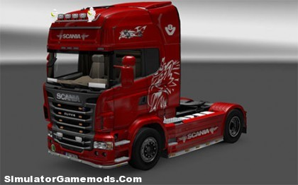 Scania R730 [ETS2]