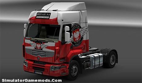 Renault Premium Poland Euro Truck Simulator 2