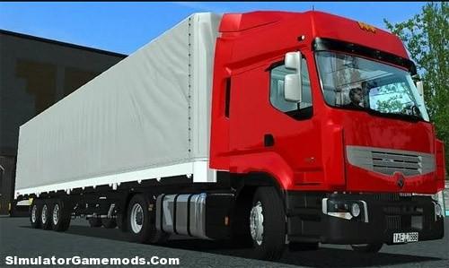 Renault Premium German Truck Simulator