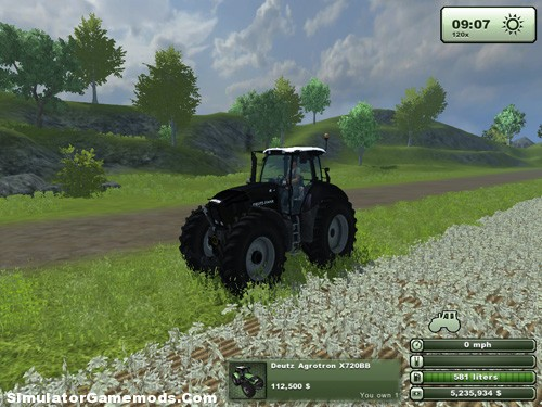 Deutz Agrotron X720BB Version 1