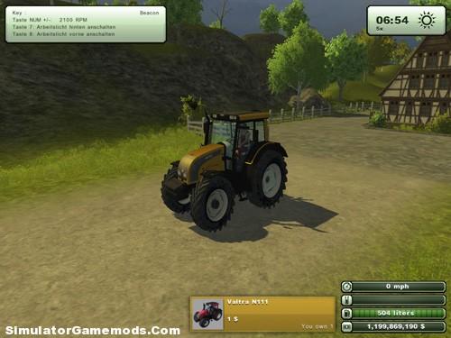 Hattat A70 Yellow Tractor