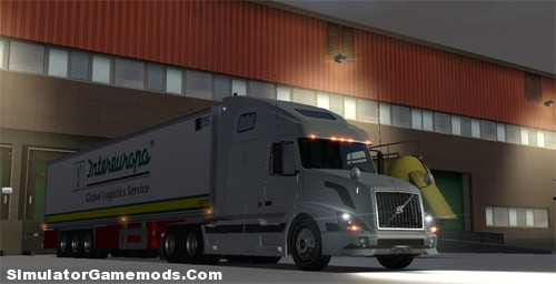 Volvo VN 670 German Truck Simulator