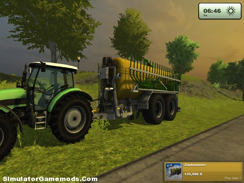 Zunhammer Manure Pack Version 1 Trailer