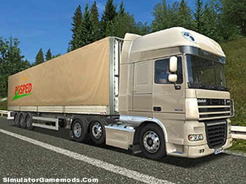 Real Emblem 6x2 UK Truck Simulator