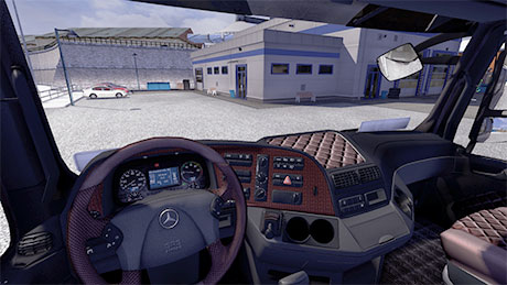 Mercedes Benz Actros MP3 interior [ETS 2]