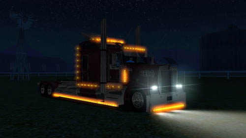 KENWORTH W900 [18 Wos Haulin]