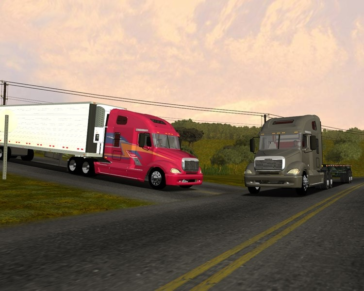 Freightliner Columbia [18 Wos Haulin]
