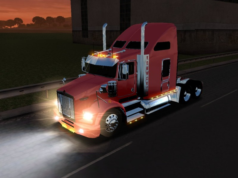 Kenworth T800 [18 Wos Haulin]