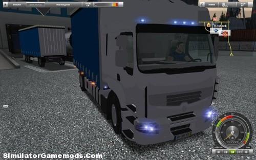 RENAULT PREMIUM II Tandem German Truck Simulator