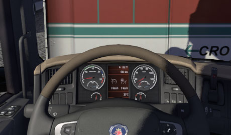 Scania Red Display [ETS 2]