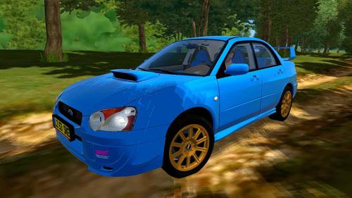 Subaru Impreza WRX STI 2004