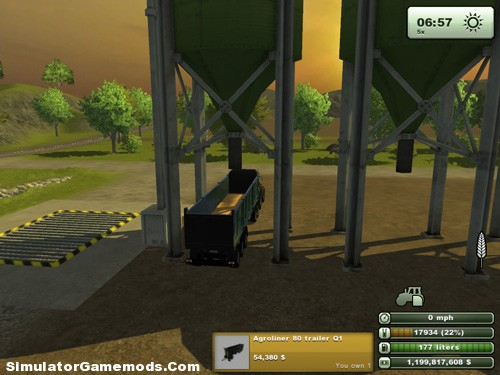 AGROLINER Pro Trailer Version 1.0