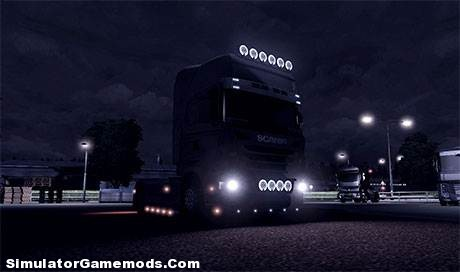 Scania Angel Eyes Headlight [ETS 2]