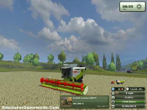 Claas Lexion 600 TT Version 1.0 Pack
