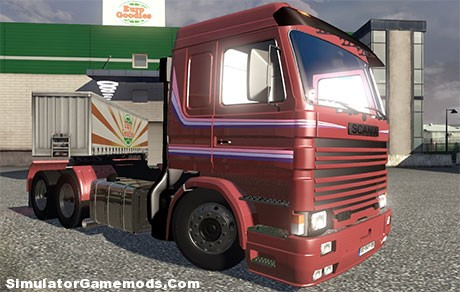 Scania 113H Frontal Beta [ETS 2]