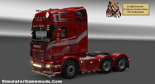 Scania Weeda The Don 6×4 Euro Truck Simulator 2