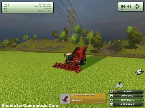 Beet Harvester Grimme Maxtron 620