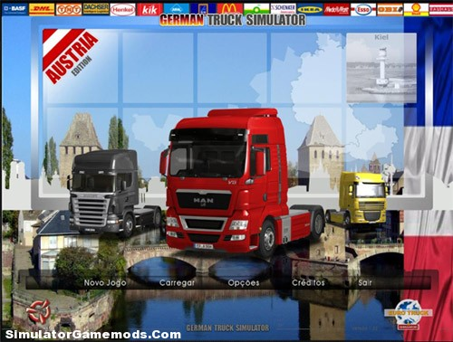 German Truck Simulator France Map