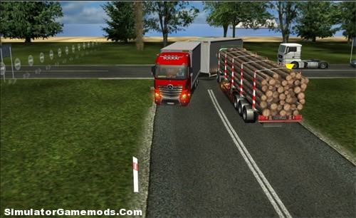 German Truck Simulator Poland Map 2012
