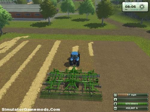 John Deere 635 Cultivator