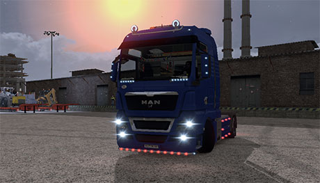 Additional Light v1 for MAN [ETS 2]