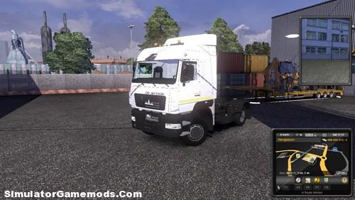 Maz 5440 Euro Truck Simulator2