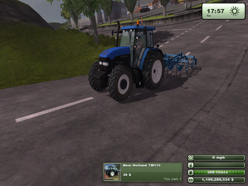 New Holland TM 115 Version 2.0