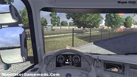 Scania White İnterior [ETS 2]