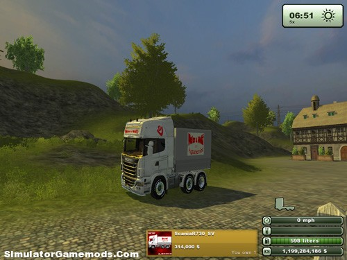 Scania R730 SV Version 2.0