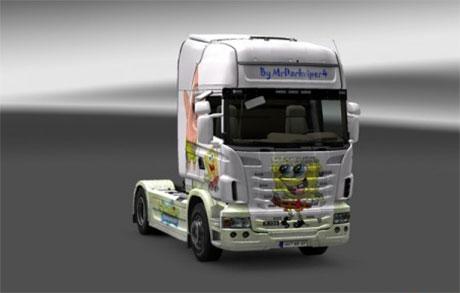 Scania Spongebob [ETS 2]