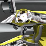 Scania Spongebob interior [ETS 2]