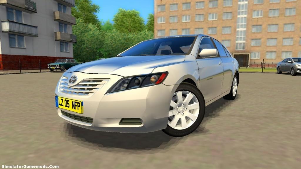 Toyota Camry 2007 Game Version 1 2 5 Simulator Games