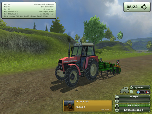 Zetor Crystal 8145 Version 1.0