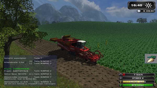 Grimme Tectron 415 AP Farming Simulator 2011 Combines