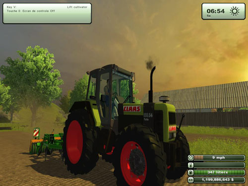 CLAAS 155.54 Tractor Ls2013 » Simulator Games Mods Download