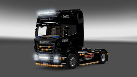 Scania R CocaCola Skin [ETS 2]