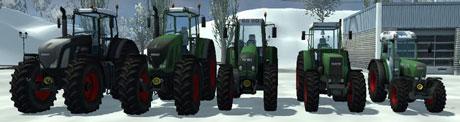 Fendt Tractors Package