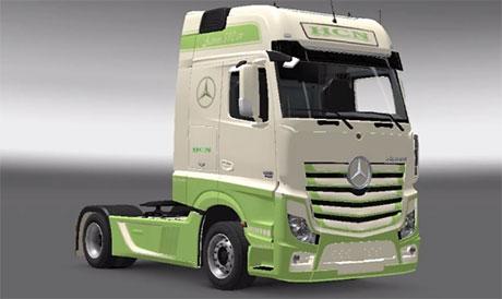 Mercedes Benz Actros MPIV [ETS 2]