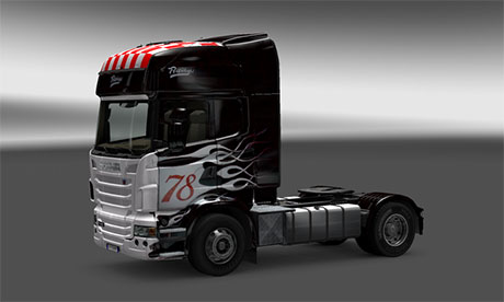 Scania Hot Rod skin [ETS 2]