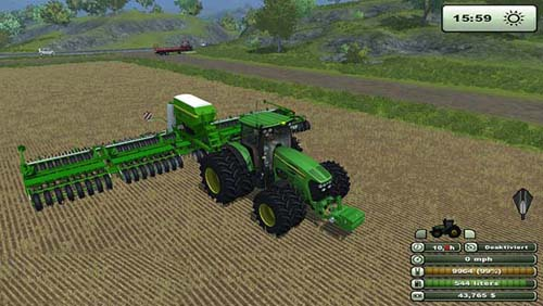 John Deere Multi Seeder 18L Farming Simulator 2013 Implements Tools Farming Simulator 2013