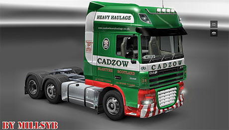How to install ats mods mod for american truck simulator ats - Daf Cadzow Skin Ets 2 Simulator Games Mods Download