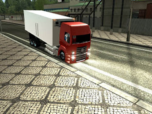 VW 24-250 + Refrigerator [GTS] German Truck Simulator Truck German Truck Simulator